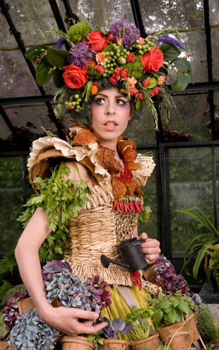 Weedrobes The Mobile Garden Dress Issue 4